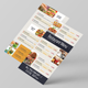 Modern Restaurant Menu Flyer - GraphicRiver Item for Sale