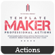 Template Maker - Photoshop Actions