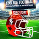 American Football Game Flyer vol.4 - GraphicRiver Item for Sale