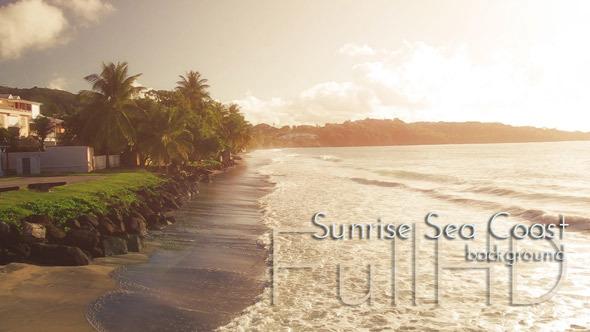 Sunrise Sea Coast
