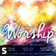 The Heart of Worship Church Flyer - GraphicRiver Item for Sale