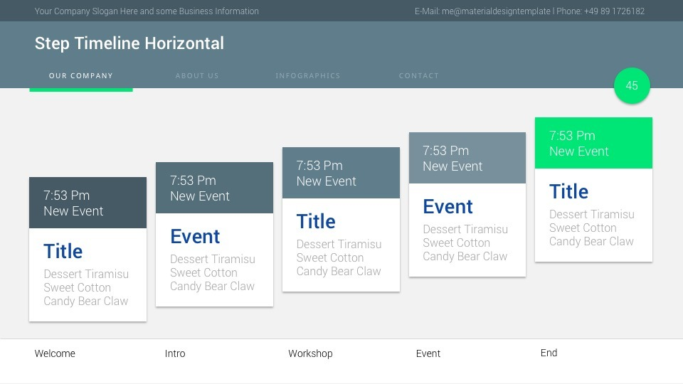 Material powerpoint presentation template by ercn1903 graphicriver material powerpoint presentation template toneelgroepblik Images