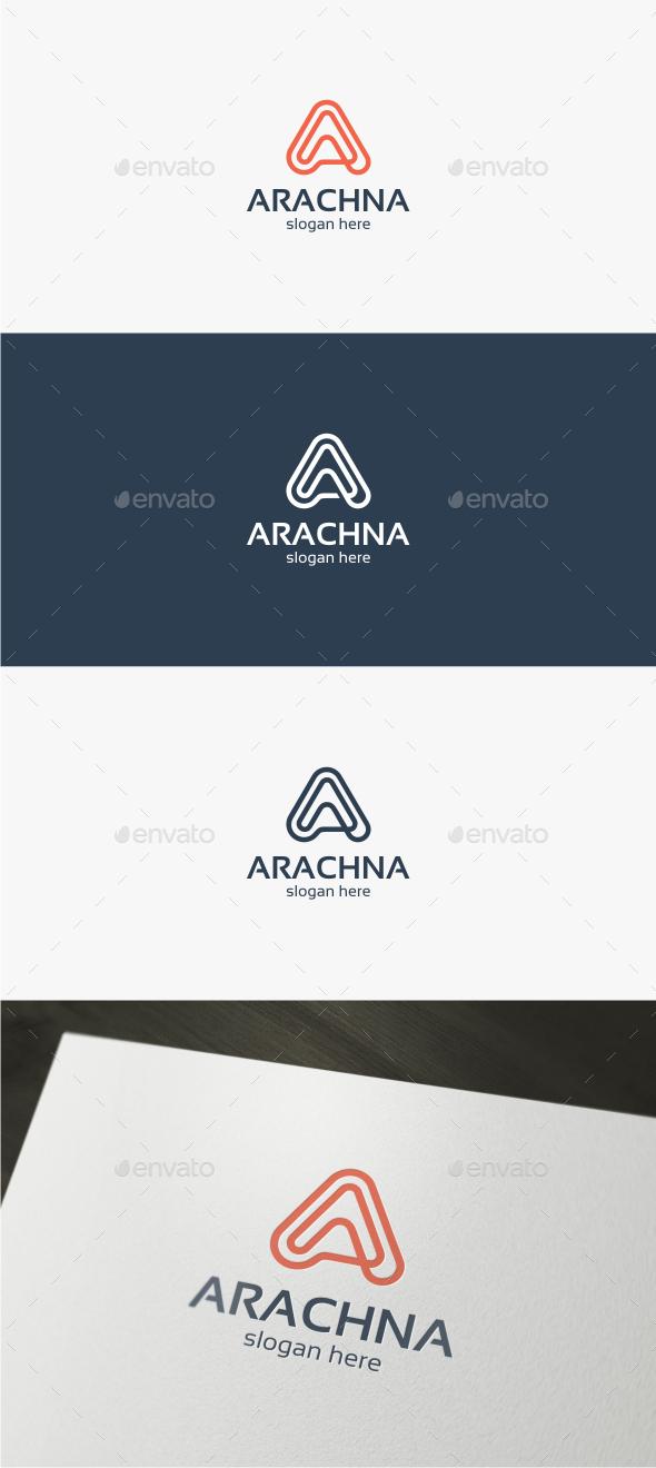 Arachna Letter A - Logo Template - Letters Logo Templates