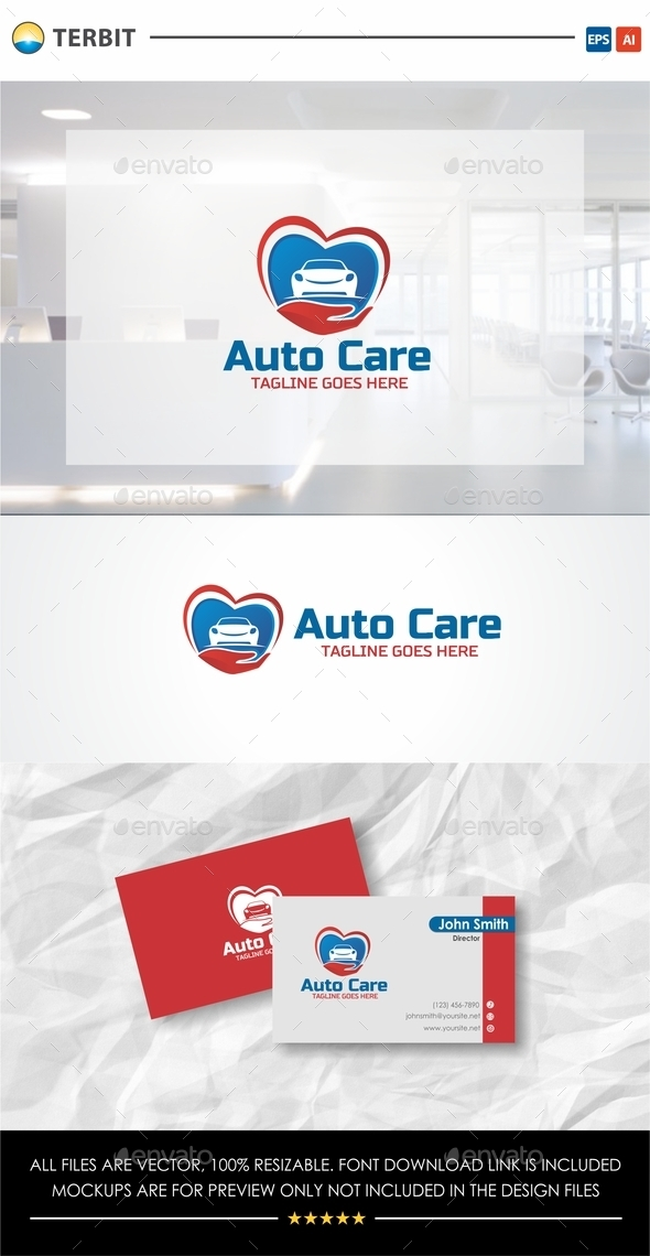 Auto Care Logo - Objects Logo Templates