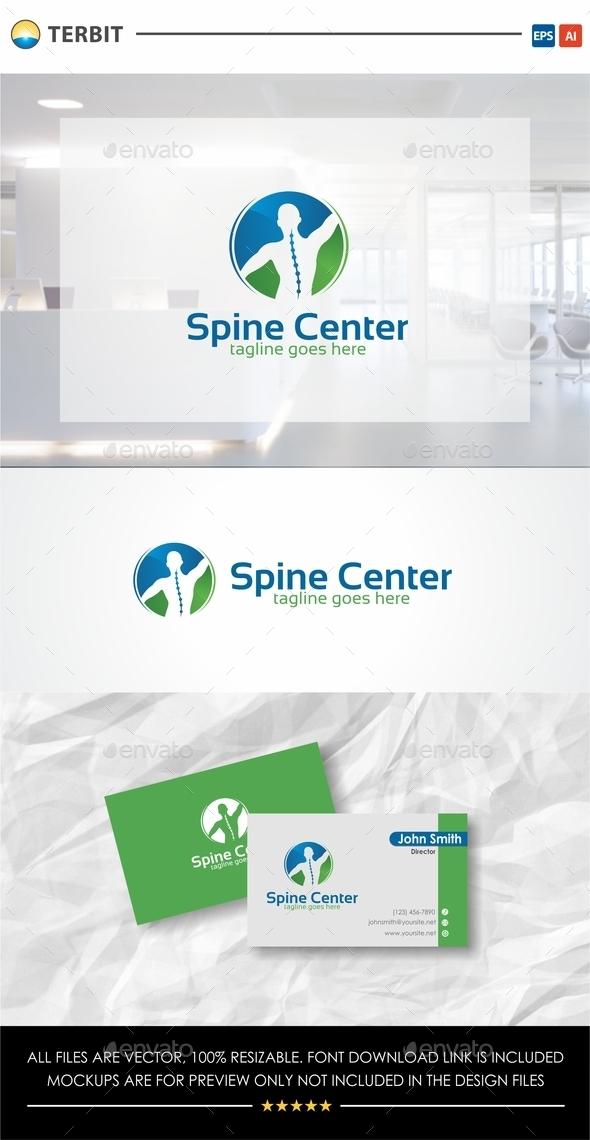 Spine Center - Humans Logo Templates