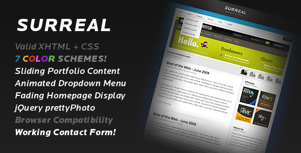 Free Download Surreal - Business & Portfolio Nulled Latest Version