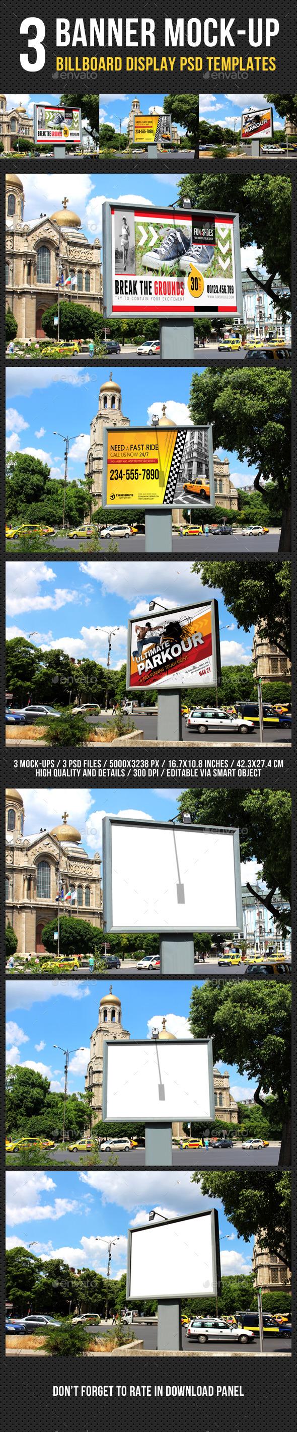 Billboard Banner Mock-Up V2