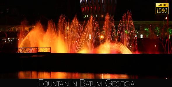 Fountain In Batumi