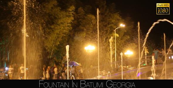 Fountain In Batumi 4