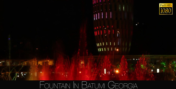 Fountain In Batumi 5