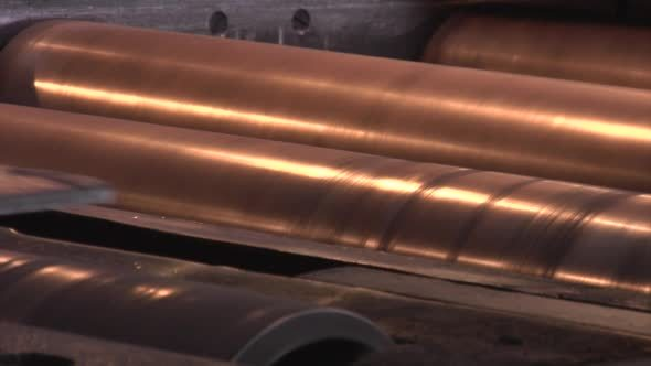 Rolled Sheets of Metal Rollers