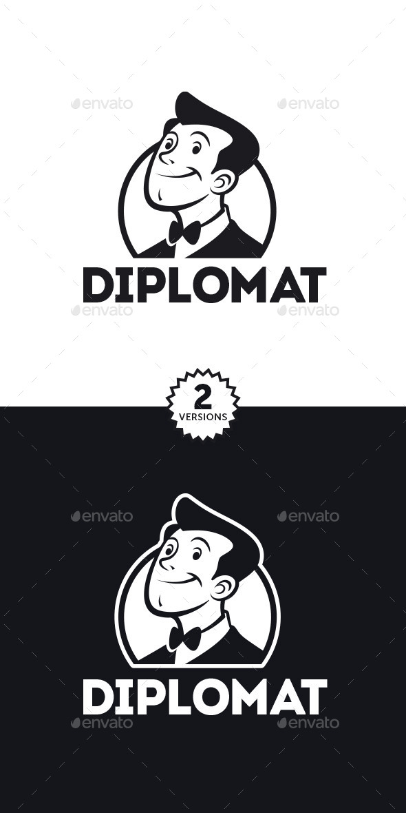 Diplomat Logo - Humans Logo Templates