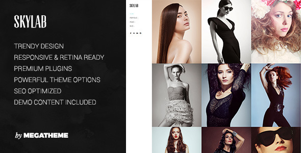 Skylab - Portfolio / Photography WordPress Theme - Photography Creative