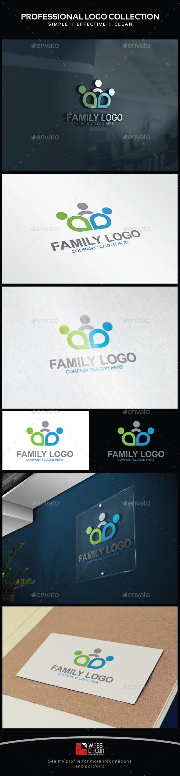 Family Social Logo