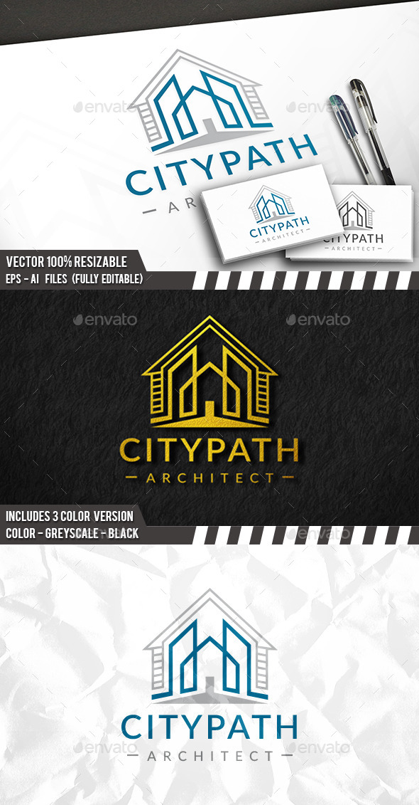 House Construction Logo - Buildings Logo Templates
