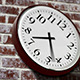 Clock on Brick Wall - VideoHive Item for Sale