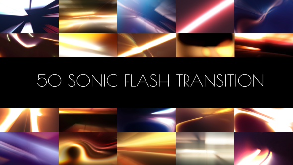 Sonic Flash Transition