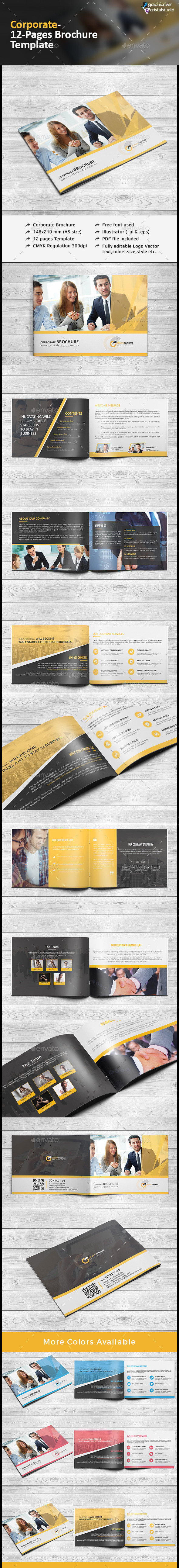 A5 Business Brochure/Catalog - Corporate Brochures