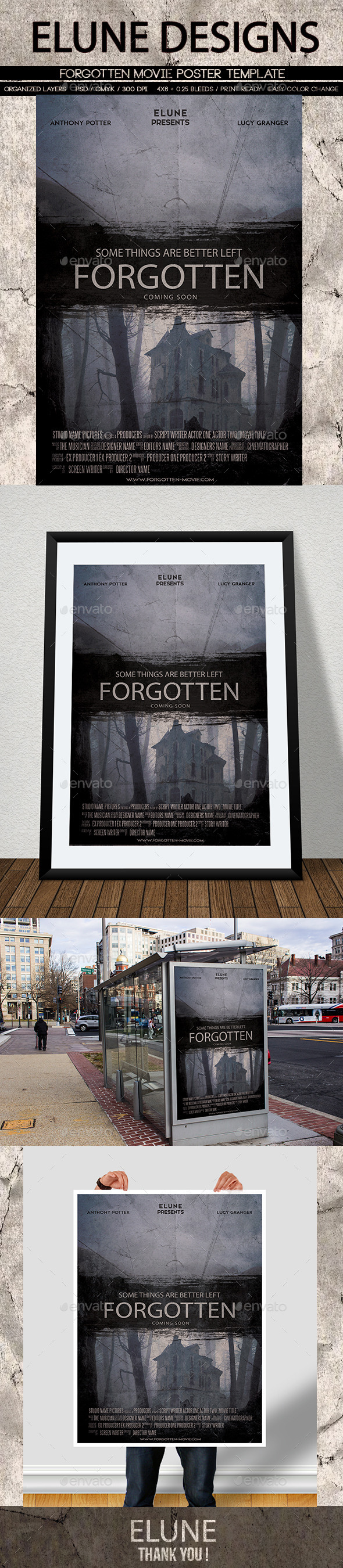 Forgotten Movie Poster - Miscellaneous Events