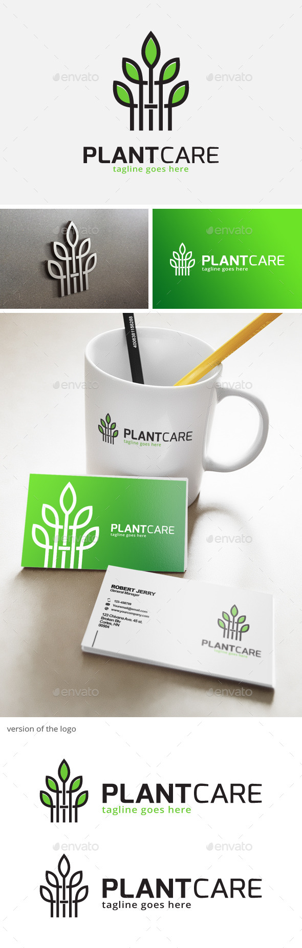 Plant Logo - Nature Logo Templates
