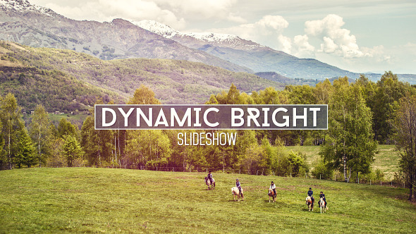Dynamic Bright Slideshow