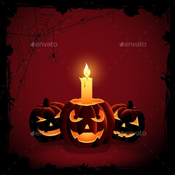 Halloween Candle - Halloween Seasons/Holidays