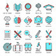 Education Teaching and Learning Line Icons - GraphicRiver Item for Sale