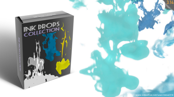 Ink Drops Collection Pack