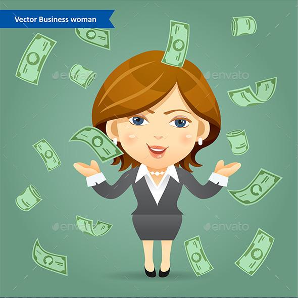 Success Business Woman Concept - Concepts Business