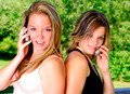 Girls And Cellphones - PhotoDune Item for Sale