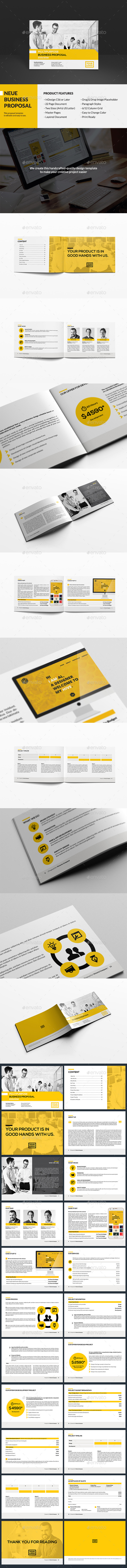 Neue - Business Proposal - Proposals & Invoices Stationery