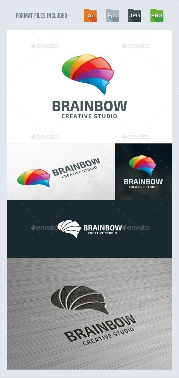 Creative Brain Rainbow