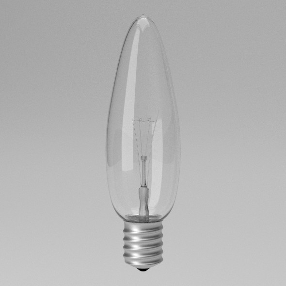 Light Bulb - 3DOcean Item for Sale