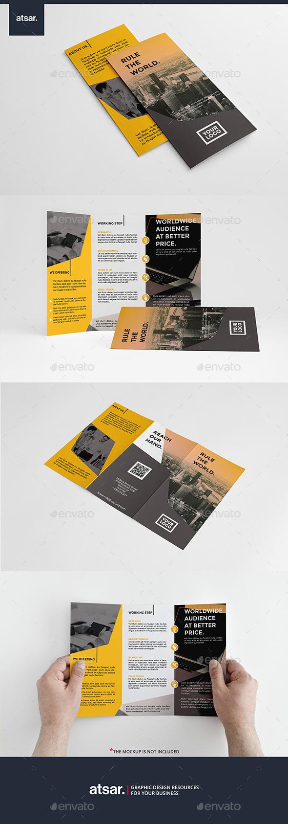Modern Yellow Multipurpose - Corporate Brochures