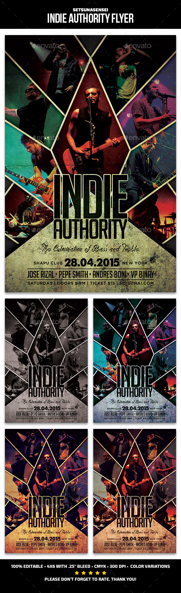 Indie Authority Flyer