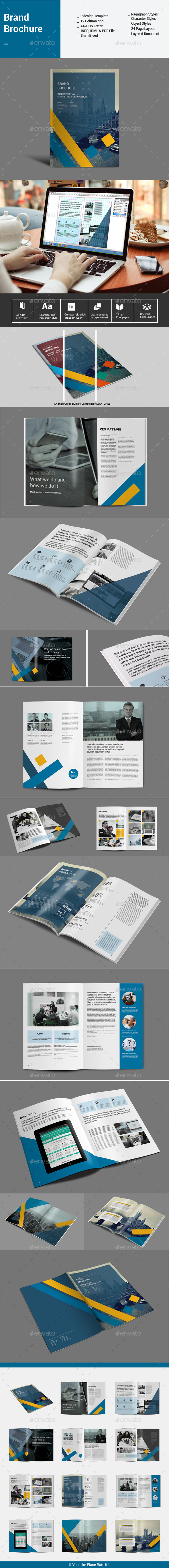 Brand Brochure Template - Corporate Brochures