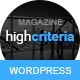 HighCriteria - Flat & Clean Magazine Theme - ThemeForest Item for Sale