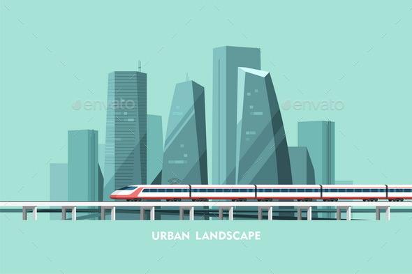 Urban Landscape - Buildings Objects