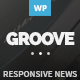 GROOVE - Clean Newspaper & Magazine Theme - ThemeForest Item for Sale