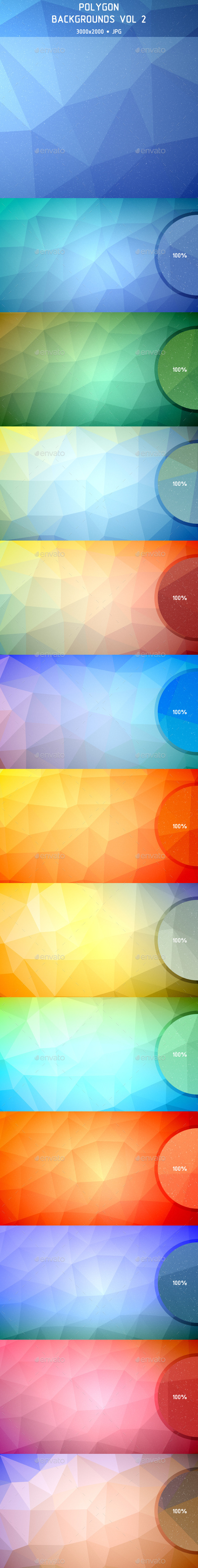 Polygon Backgrounds Vol 2 - Abstract Backgrounds