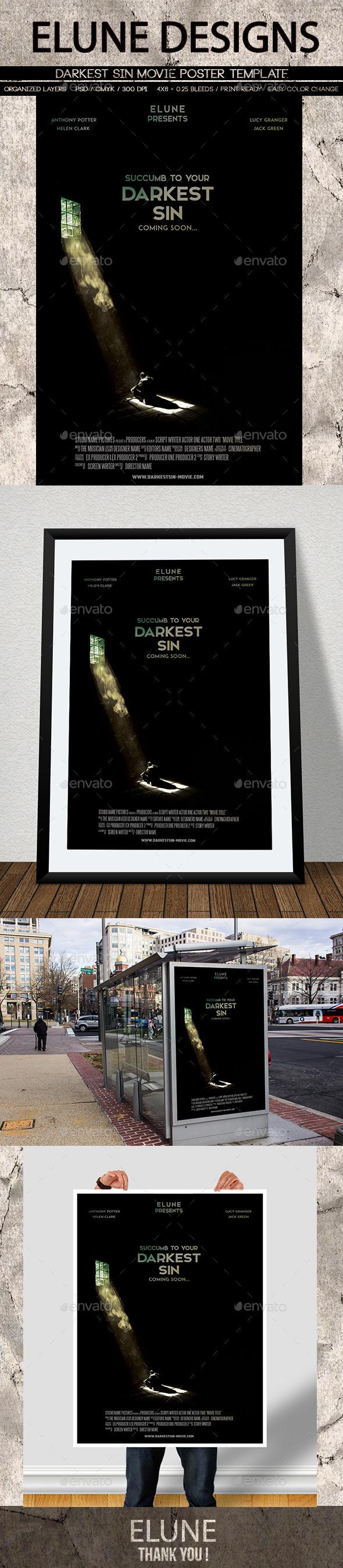 Darkest Sin Movie Poster