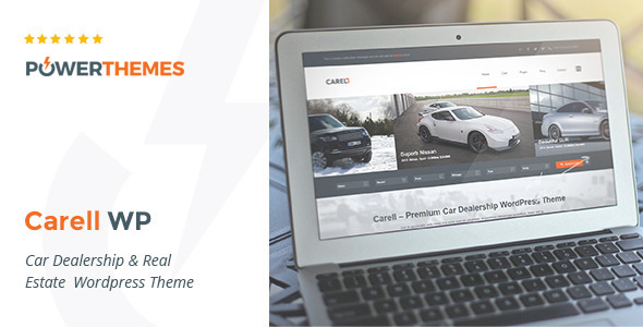 Image of Carell - Real Estate & Car Dealership WP Theme
