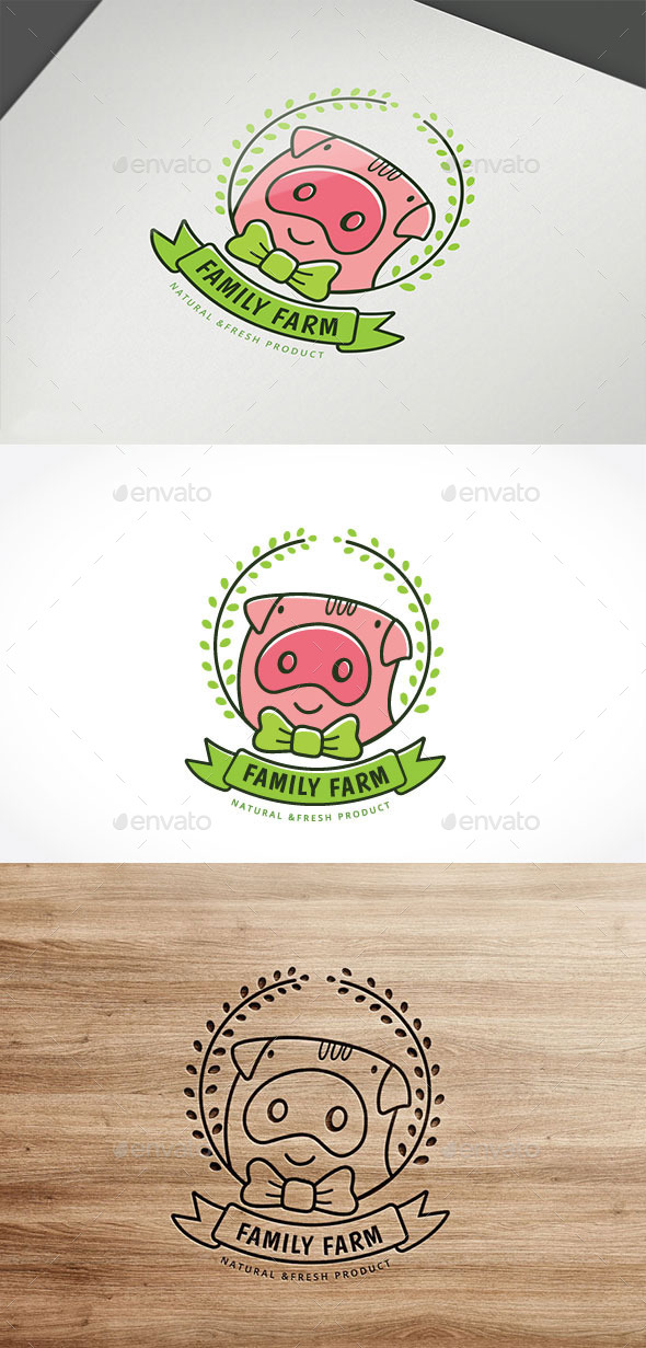 Family Farm - Crests Logo Templates