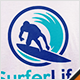 Surfing Life Logo - GraphicRiver Item for Sale
