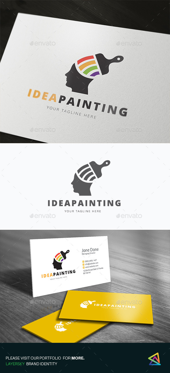 Idea Painting - Humans Logo Templates