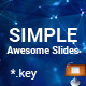 Simple Keynote Presentation Template - GraphicRiver Item for Sale