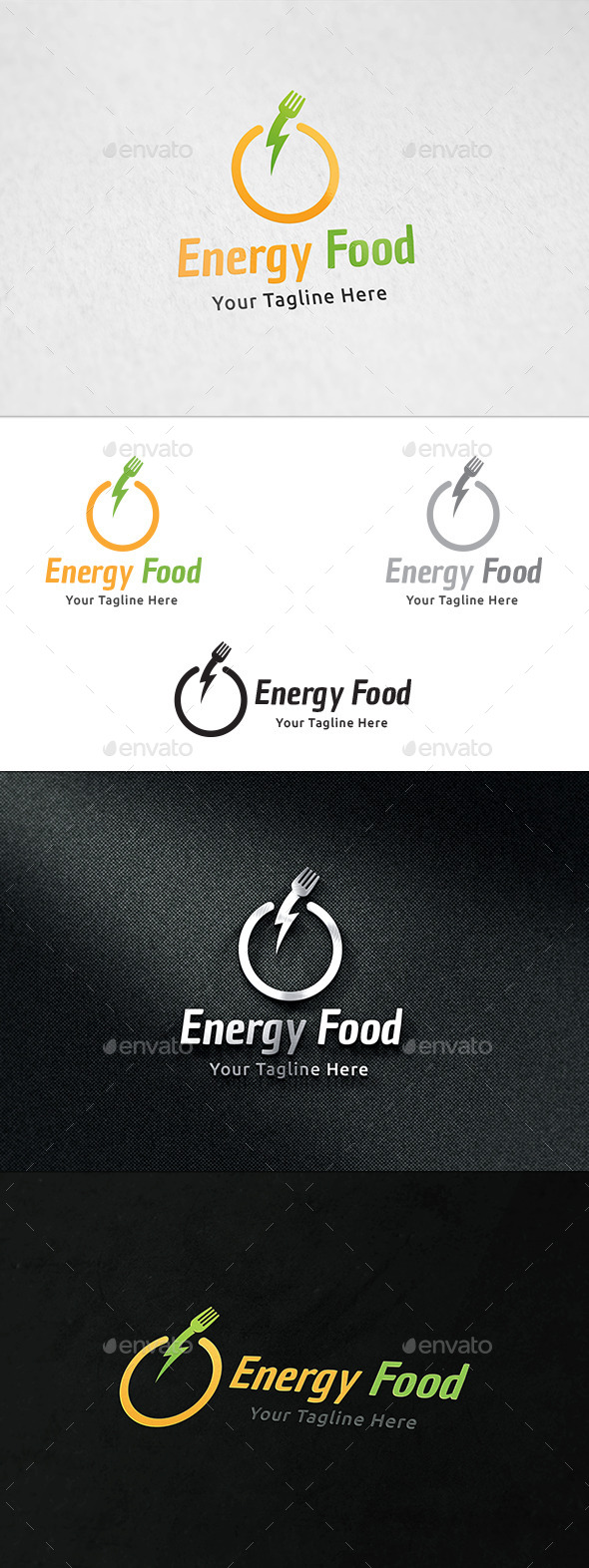 Energy Food Logo - Food Logo Templates