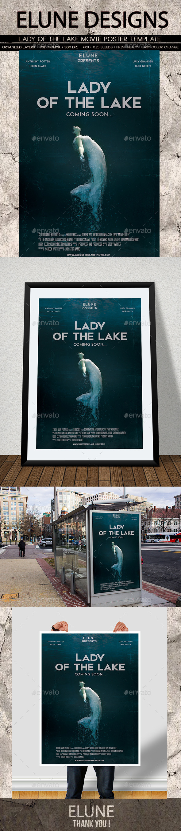 Lady Of The Lake Movie Poster
