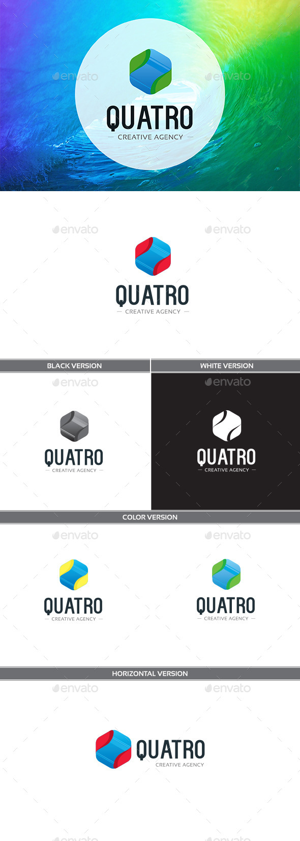 Quatro - Vector Abstract