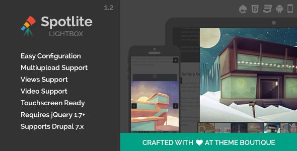 Spotlite - Drupal Lightbox Module - CodeCanyon Item for Sale